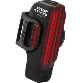 Lezyne Strip Drive Oświetlenie StVZO czerwony/czarny